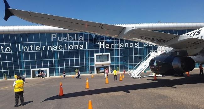 Aeropuerto internacional de Puebla Hermanos