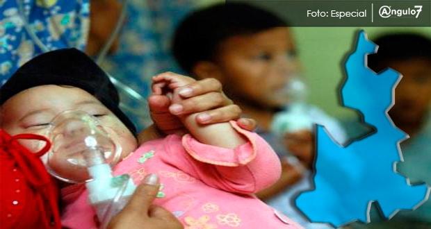 Puebla, segundo en muertes de menores por infecciones respiratorias: Redim