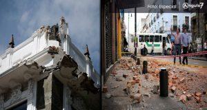En el CH de Puebla, hay 7 casonas en riesgo de desplomarse: Ariza