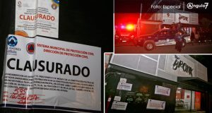 Clausuran bar The Bronx; propietarios afirman que entregarán documentos