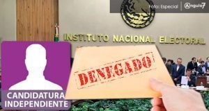 INE niega registro a aspirantes independientes