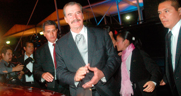 Vicente Fox debuta como actor en la serie Club de Cuervos