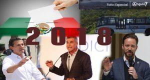 En 2018, se renovará gubernatura en Puebla y empezará línea 3 de RUTA