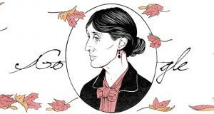 La escritora Virginia Woolf es homenajeada por Google