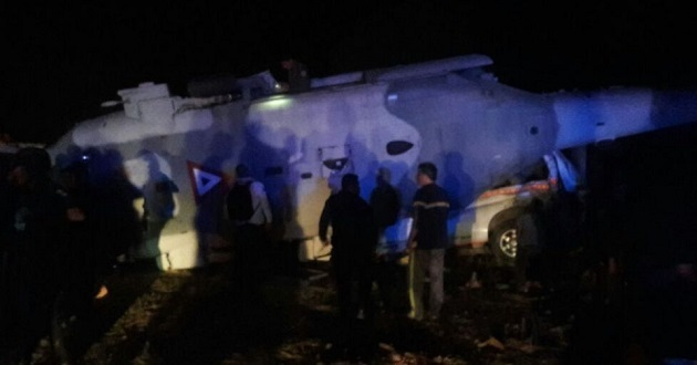 Mueren 14 en Oaxaca tras caer aeronave donde iban Navarrete y Murat