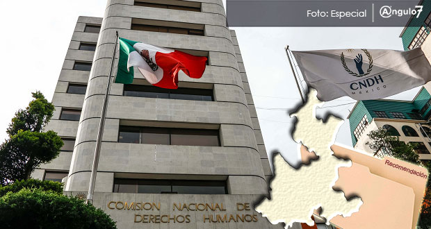 Tiene Puebla cinco recomendaciones sin cumplir: informe de CNDH