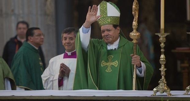 Norberto Rivera da última misa como arzobispo primado de México. Foto: Especial
