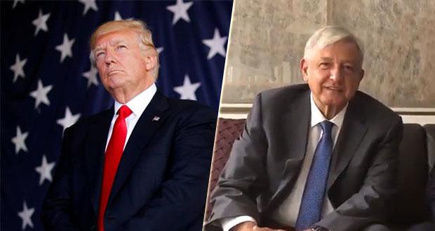 Trump analiza asistir a la toma de posesión de López Obrador
