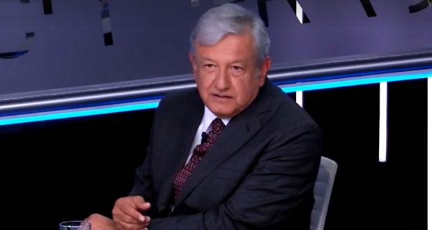 """AMLO perdonaría a corruptos del pasado para evitar """"confrontación"""""""