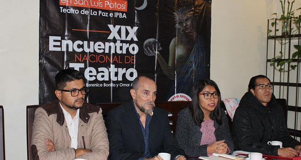 Puebla, con dos obras a Encuentro Nacional de Teatro de Antorcha
