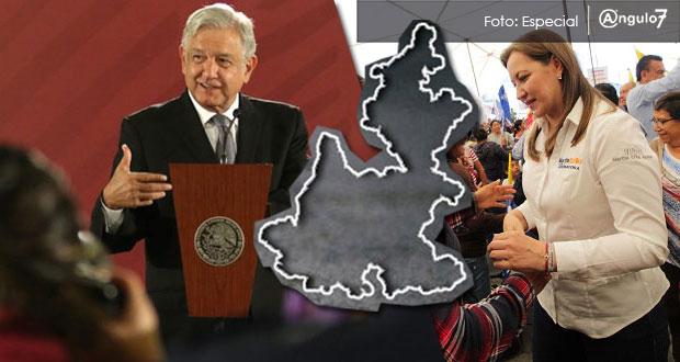 Seré institucional con Martha Erika pero esperaré para ir a Puebla: AMLO