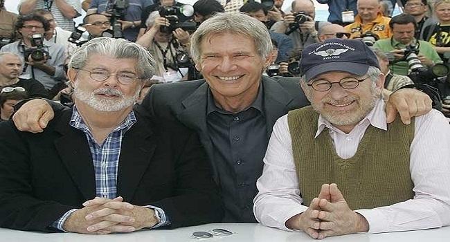 """Spielberg y George Lucas trabajarán juntos en """"Indiana Jones 5 ..."""