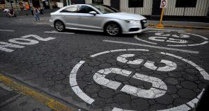 Hasta 20 infracciones a la semana por sobrepasar límite en zona 30