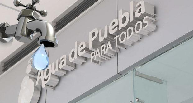 Agua de Puebla no operará el 2 de noviembre por Día de Muertos