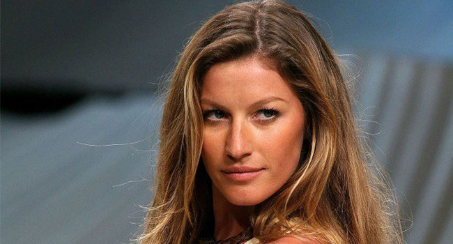 Gisele Bündchen, la modelo mejor pagada de 2016. Foto: Forbes
