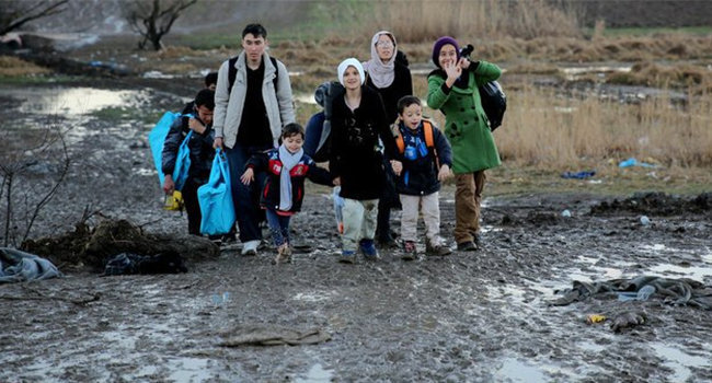 En 2018, cada minuto, 25 personas huyeron de sus hogares en el mundo