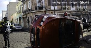 En Puebla, 7 de 100 autos tienen un accidente
