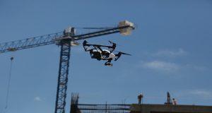 Investigadores de la Cimat diseñan un dron para localizar y rescatar personas. Foto: Especial