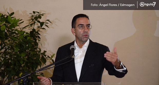 Lozano, político poblano opositor de AMLO, será vocero de Coparmex