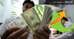 Remesas en México suben 6.7%