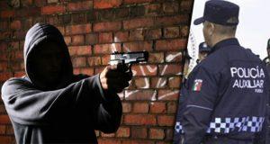 Comando agrede a dos policías y roba patrulla en Cañada Morelos
