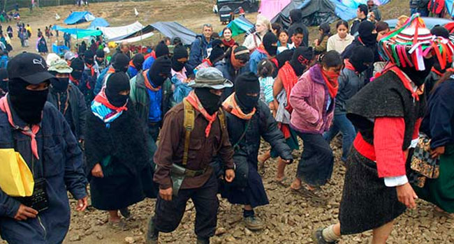 EZLN acusa que SRE les ha negado pasaportes para ir a Europa