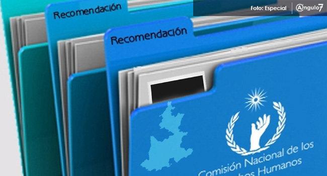 Puebla pasa de dos a 4 recomendaciones por violaciones a DH en un año