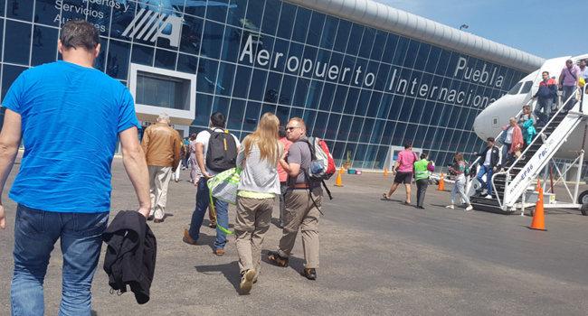 Pasajeros de Red ASA aumentan 13.4% en 7 meses de 2019 en Puebla