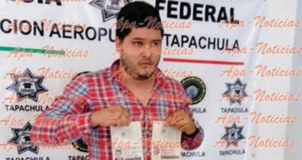 Detectan pasaportes falsos de Javier Duarte; quiere ir a Guatemala. Foto: Radio Fórmula