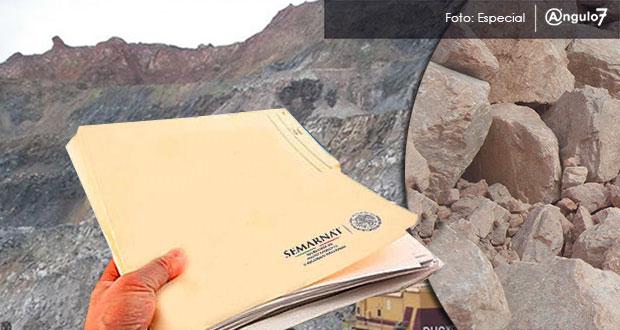 Semarnat no avala proyectos de dos mineras en Jolalpan y Chiautla