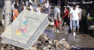 """62 zonas de la capital de Puebla, en riesgo """"alto"""" de inundaciones: atlas"""