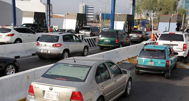 Vía Atlixcayotl, con mayor aforo vehicular entre carreteras de cuota de Puebla