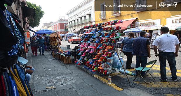 Entre 2005 y 2020, informalidad en Puebla capital representó 52%