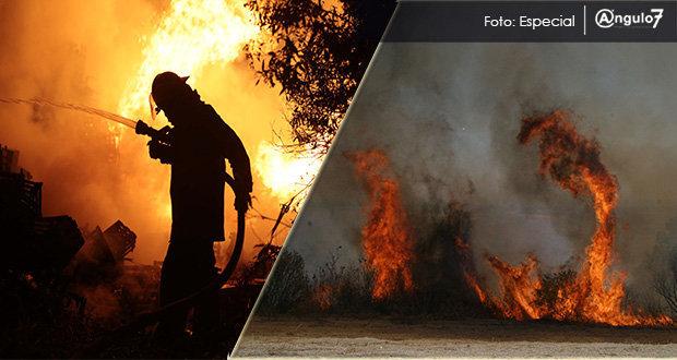 Hasta marzo, Puebla es 3º con más incendios y 7º con mayor superficie afectada