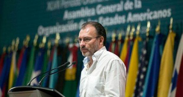 FGR solicita capturar a Luis Videgaray, extitular de SHCP con Peña
