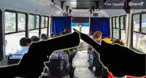 Con 86 robos en transporte público Puebla es 3er lugar
