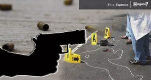 Asesinan a balazos a hombre en Acajete