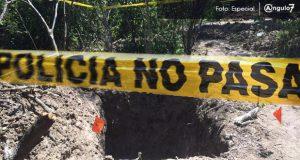 Encuentran tres cadáveres en pozo seco y fosa clandestina de Huixcolotla