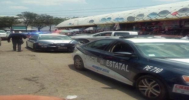 Reportan balacera en mercado Morelos; Ssptm asegura que no había cartuchos