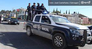 Es necesario dignificar labor de policías en Puebla, señala Patrón