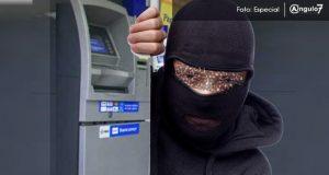 Un grupo armado intentó robar un cajero Bancoppel de San Francisco Totimehuacán. Foto: Especial