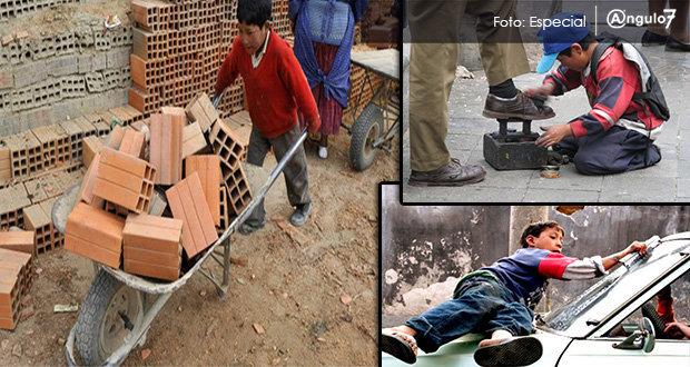 Puebla es noveno estado en trabajo infantil, señala informe