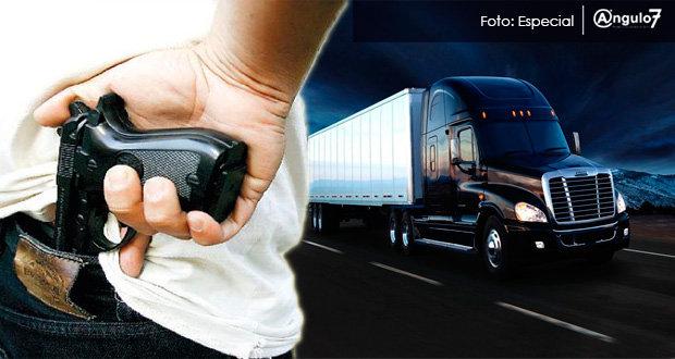 PF recupera camión robado y asegura al conductor en Oriental