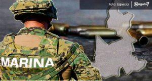 """Enfrentamiento entre Marina y banda de """"El Kalimba"""" deja 2 muertos en Libres. Foto: Especial"""