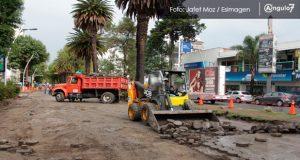 Modernización total de avenida Juárez estaría hasta enero: Albizuri