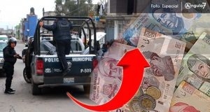 15 mdp, para aumento salarial de entre 4 y 5% para policías municipales