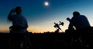 Disfruta el próximo lunes en Puebla del eclipse solar. Foto: Especial