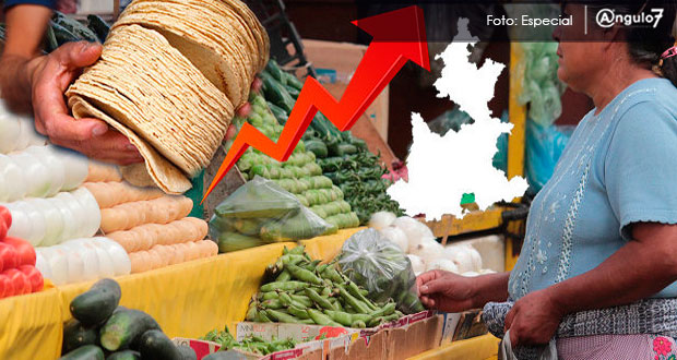 Durante la primera quincena de abril, el precio de productos y servicios de la ciudad de Puebla aumentaron 0.06 por ciento, el octavo mayor de 46 municipios. Foto:Especial
