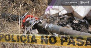 Policía Federal detecta 2 tomas clandestinas de huachicol en Puebla
