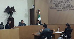 sala regional del Tepjf en la Ciudad de México